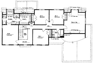 Plan AP-442 Second Floor